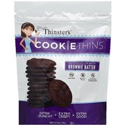 Mrs. Thinster's Brownie Batter Cookie Thins, 4 oz, (Pack of 12)