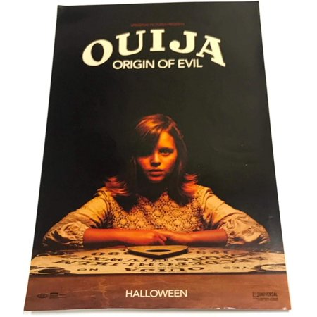 Universal Studios Ouija Origin of Evil Halloween Movie Horror Poster 11X17 (Universal Studio Halloween Singapore)