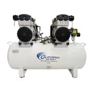 California Air Tools 20040DCAD Ultra Quiet & Oil-Free 4.0 Hp, 20.0 Gal. Steel Tank Air Compressor with Air Drying System & Auto Drain