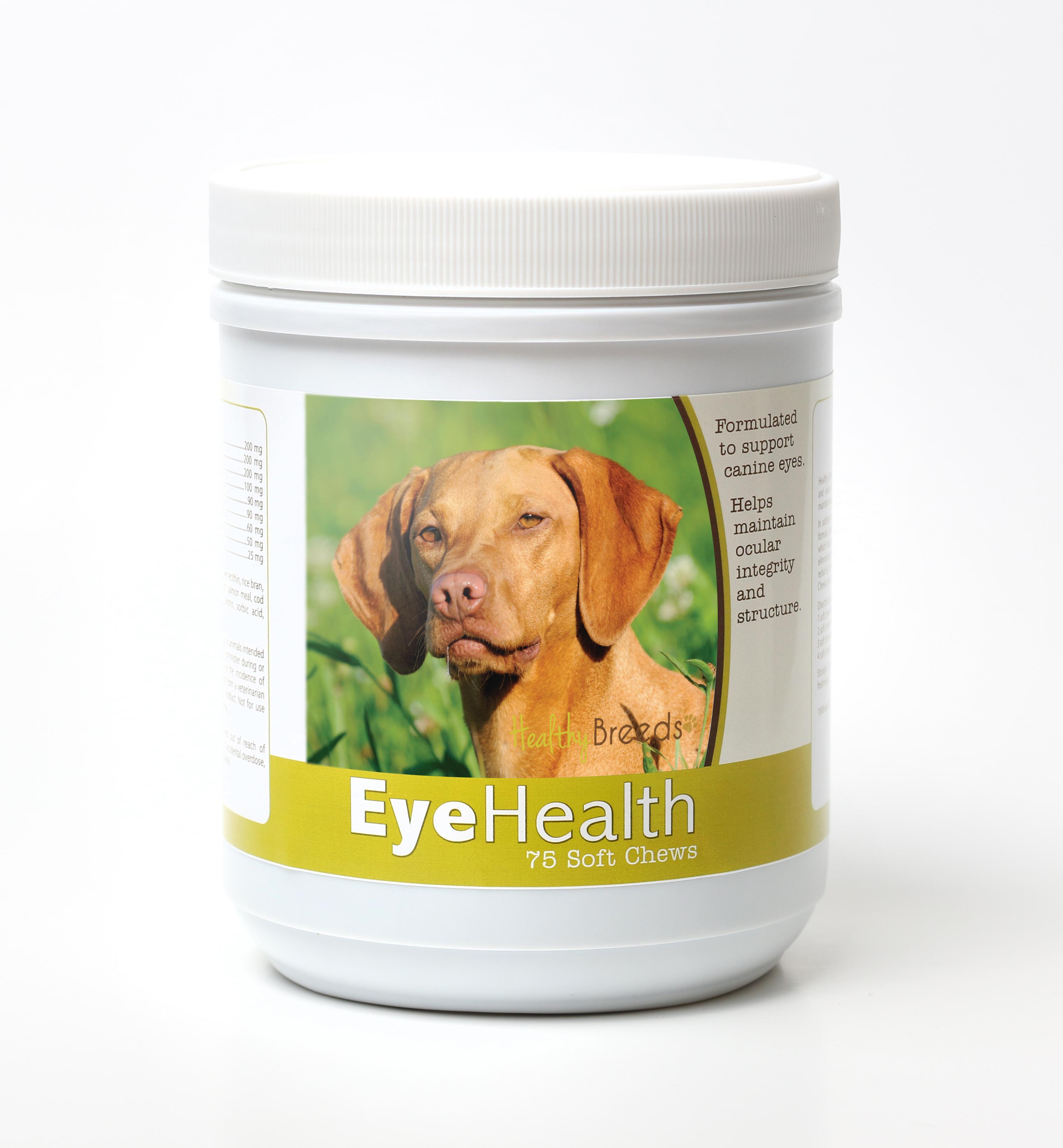 Healthy Breeds Dog Eye Health Support Soft Chews for Vizsla 75 Count