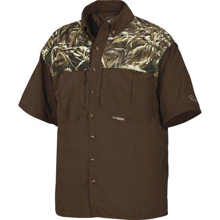 EST Wingshooter XL Short Sleeve Men's Collared Work Shirt