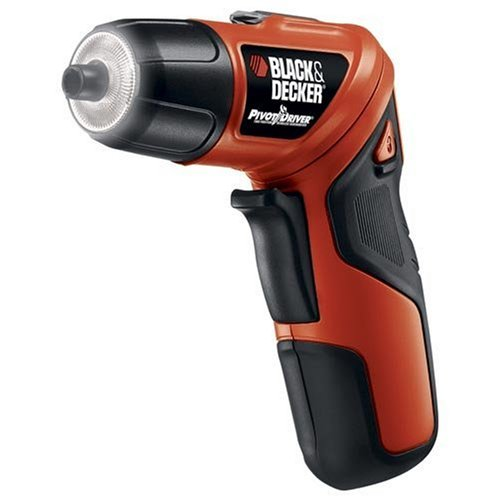 Black and Decker Pivot Screwdriver, PD400LG