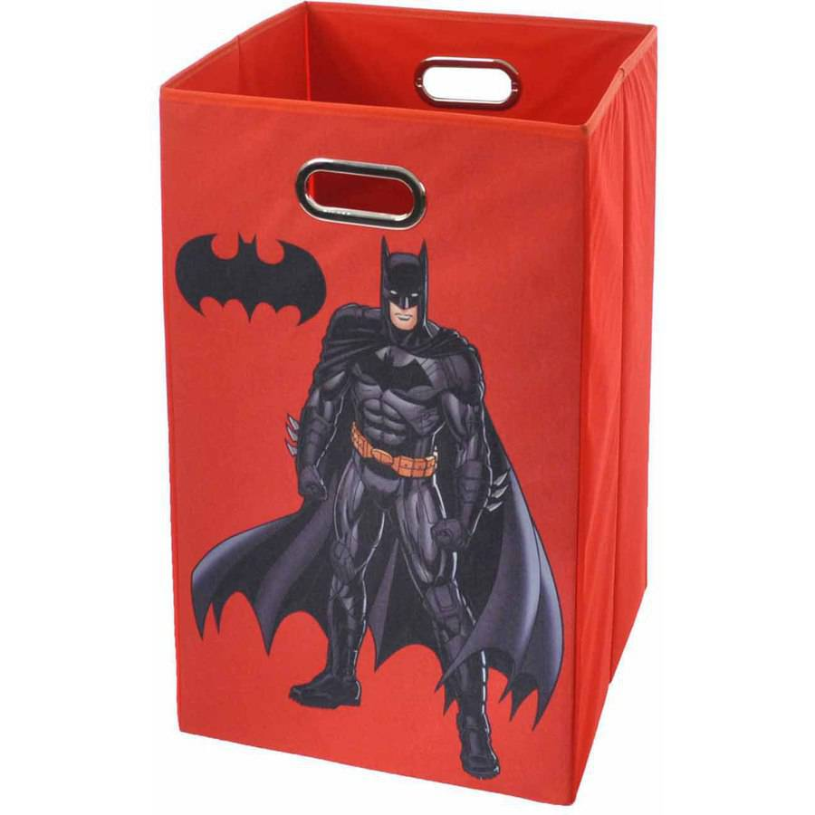 Modern Littles Batman Folding Laundry Basket