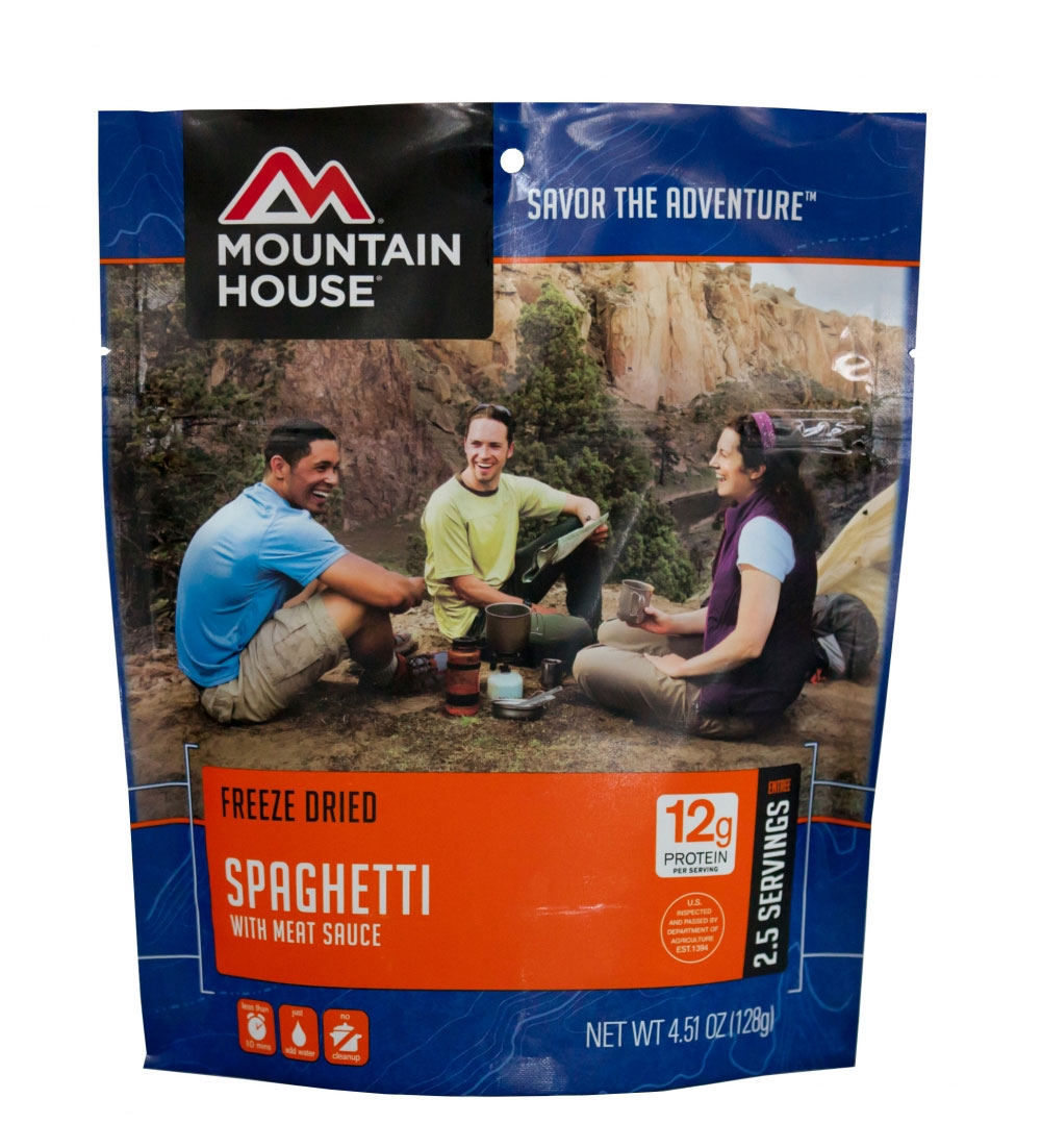 Mountain House Spaghetti with Meat Sauce by Mountain House