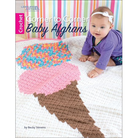 Crochet Tailored Split Corner Bedskirt - Leisure ArtsCorner To Corner Baby Afghans