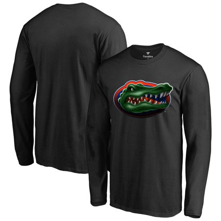 Florida Gators Midnight Mascot Long Sleeve T-Shirt - Black - Florida Long Sleeve Shirt
