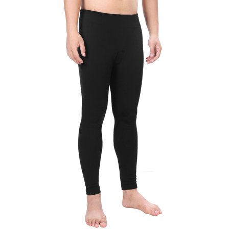 Men's Winter Compression Thermal Pants Long Johns, Stretch,