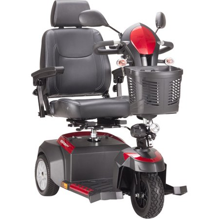 Drive Medical Ventura Power Mobility Scooter, 3 Wheel, 20