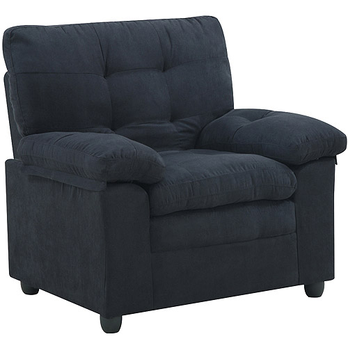 Mainstays Buchannan Microfiber Chair, Multiple Colors