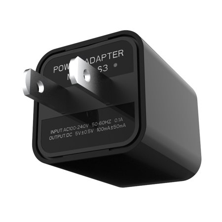 1080P HD USB Wall Charger Mini Camera Security Camera AC Adapter (with Card - Ac Adapter Camera