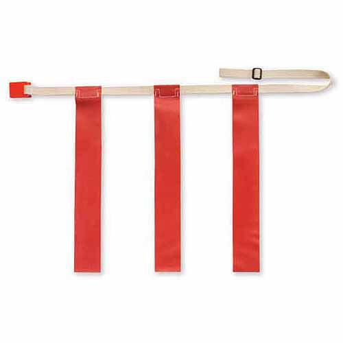 Triple Threat Flag Football Belts, Red