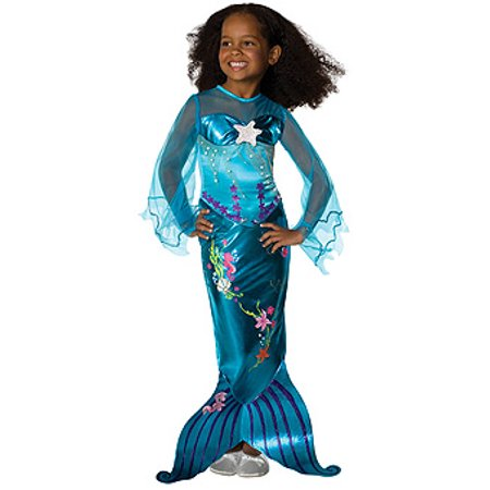 Blue Magical Girls Mermaid Costume - In Stock Toddler 2-4