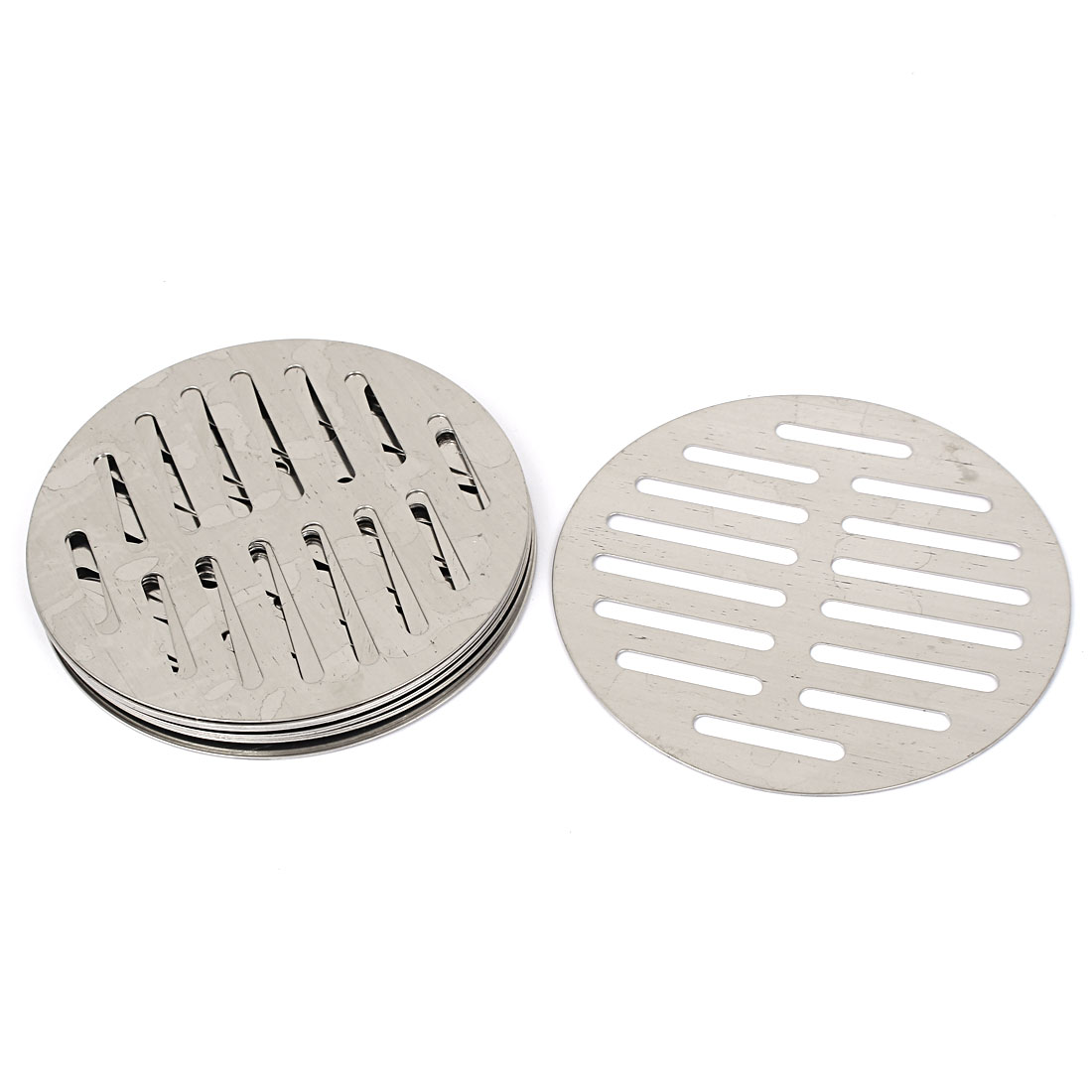 Stainless Steel Round Sink Floor Drain Strainer Cover 5