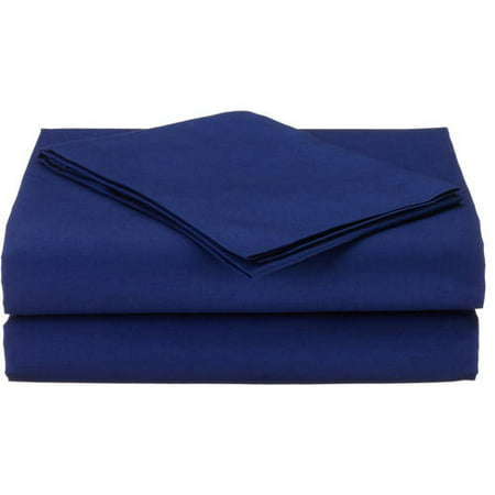 American Baby Company 100 Percent Cotton Percale 3-Piece Toddler Sheet Set, Royal Blue