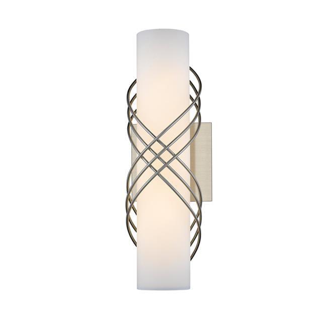 Golden Lighting 9116-B14 PW-OP 14 in. Juliette LED Bath Bar - Pewter with Opal Glass - image 1 de 1