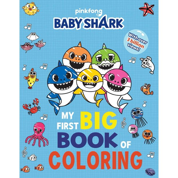 Pinkfong Baby Shark: My First Big Book of Coloring ...