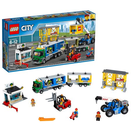 LEGO City Town Cargo Terminal 60169 Building Set (310 Pieces)](Lego Halloween Building Instructions)