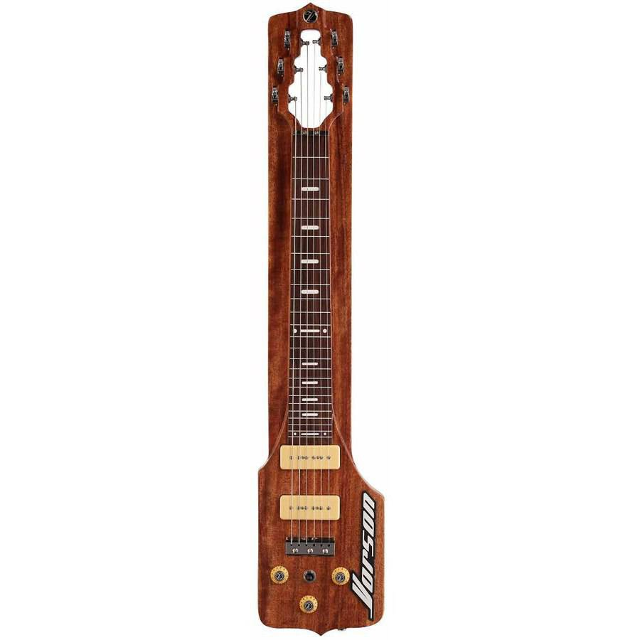 Vorson SL 100E Straight Lap Steel Guitar Package, Natural by Vorson