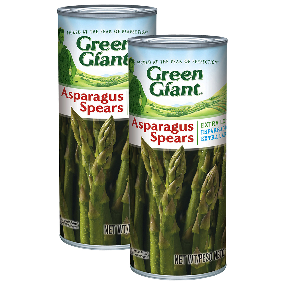 Green Giant Extra Long Asparagus Spears, 15 Oz (2 Packs)