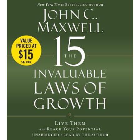 The 15 Invaluable Laws of Growth : Live Them and Reach Your (10 Best Law Schools)