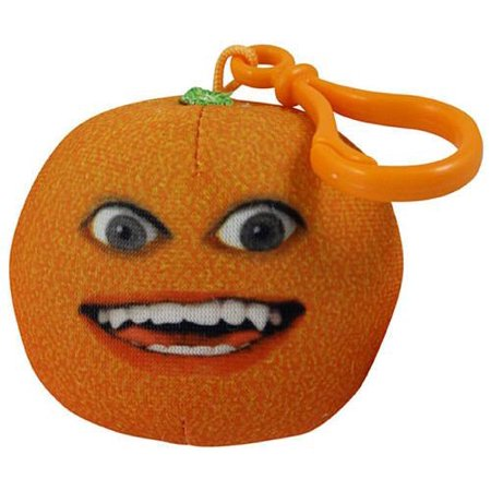 Annoying Orange Take-Alongs Smiling Orange Plush Clip On [Talking]