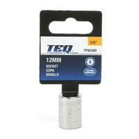 "TEQ Correct Professional 3/8""DR SOCKET 12MM 1 EA CQTQP, 1 each, sold by each"