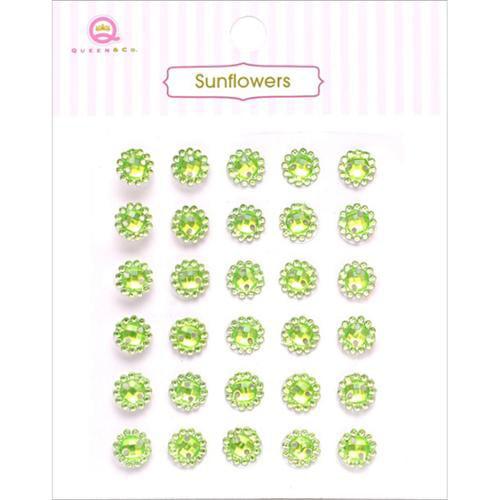 Green Sunflowers - Queen & Co