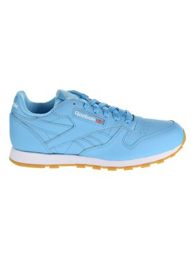 3a4d5c0f1ae Product Image Reebok Classic Leather Gum Boys Shoes Crisp Blue White Gum  cn4095