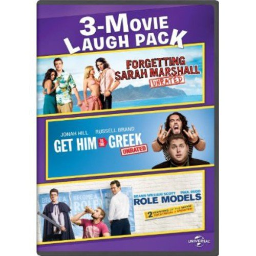 Forgetting Sarah Marshall   Get Him To The Greek   Role Models (Anamorphic Widescreen) by Universal