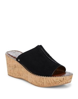 ranger suede wedge slides Economical, stylish, and eye-catching shoes