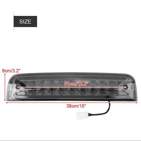Yosoo Car 3rd Brake Light LED for Dodge Ram 1500 09-17 2500 3500 10-17 55372082AC Chrome&Smoke,Rear Tail Lamp,3rd Brake Lamp - image 3 de 8