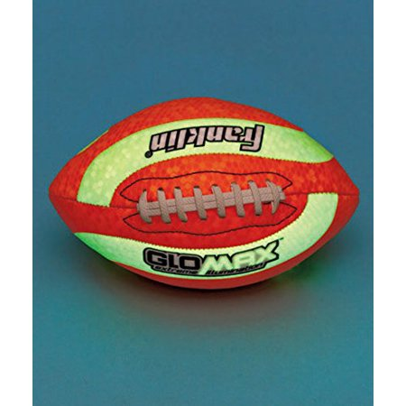 Glow Football (Glow-in-the-dark Football, Playground Ball, Soccer Ball, and Football, PVC By The Lakeside Collection From)