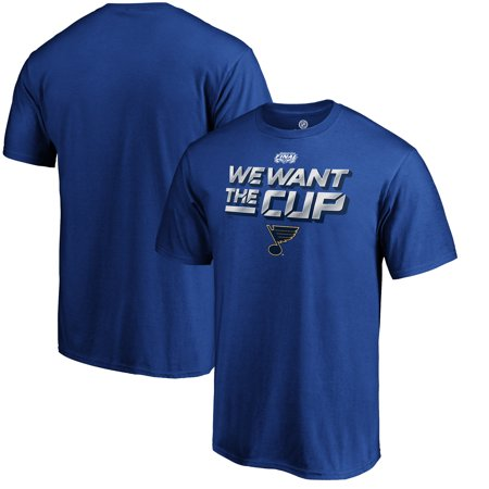 St. Louis Blues Fanatics Branded 2019 Stanley Cup Final Bound Full Strength T-Shirt -