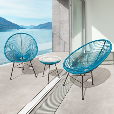 Excellent Corvus Sarcelles Modern Wicker Patio Chairs By Set Of 2 Gmtry Best Dining Table And Chair Ideas Images Gmtryco