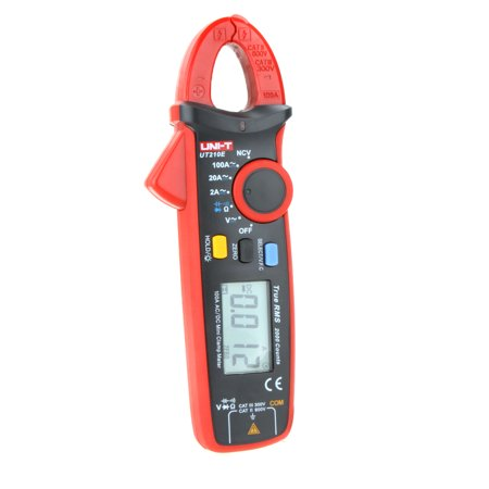UNI-T UT210E True RMS AC/DC Current Mini Portable Handheld LCD Diaplay Digital Clamp Meter w/ Capacitance Tester