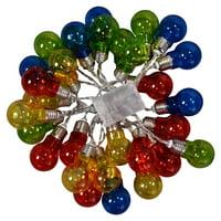 Goplus Christmas LED String Ball Lights Xmas Wedding Party Decor Lamp Colorful