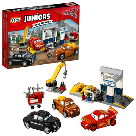 LEGO Juniors Smokey's Garage 10743 Building Set (116 (Building A Safe Room In Your Garage)