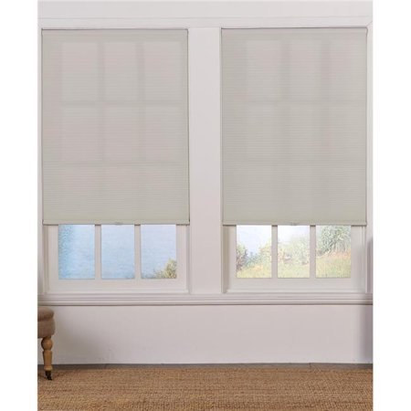 Safe Styles UBC545X64LG Cordless Light Filtering Cellular Shade, Gray - 54.5 x 64 in. - image 1 of 1