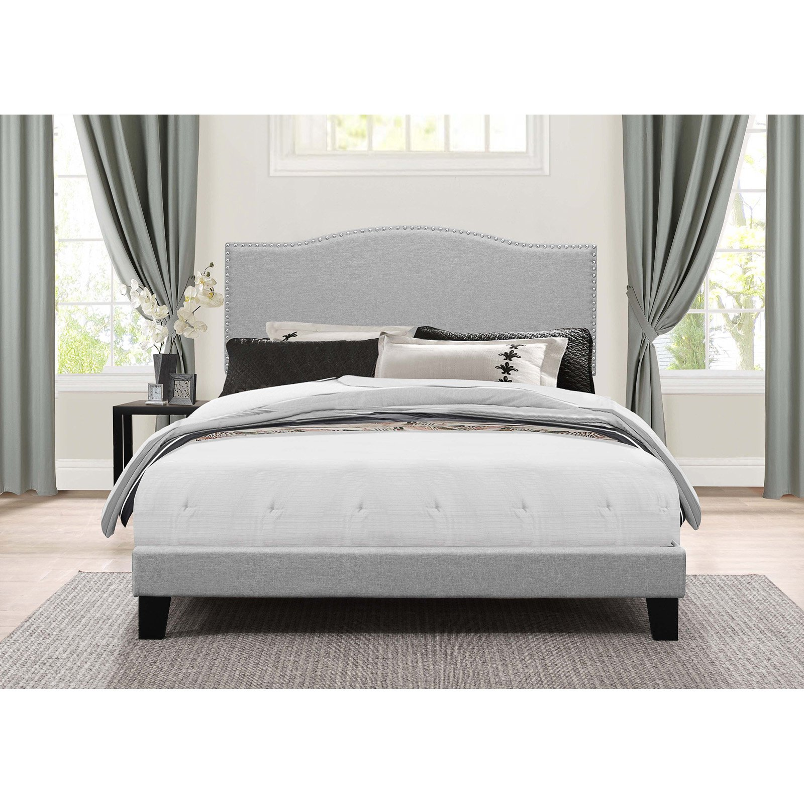 Hillsdale Furniture Kiley Full Bed, Glacier Gray