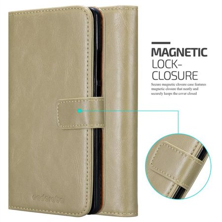 Cadorabo Case for Huawei MATE 8 cover - with Magnetic Closure, Stand Function and Card Slot - image 5 de 5