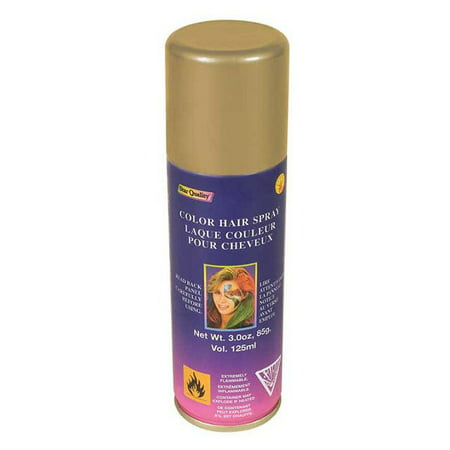Gold Hair Spray (Gold Colored Hairspray Halloween Costume)