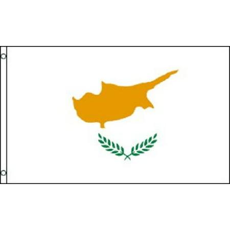 3x5 Cyprus Flag Mediterranean Island Banner Republic Country Pennant