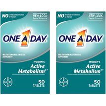 Multivitamins: One A Day Women's Active Metabolism