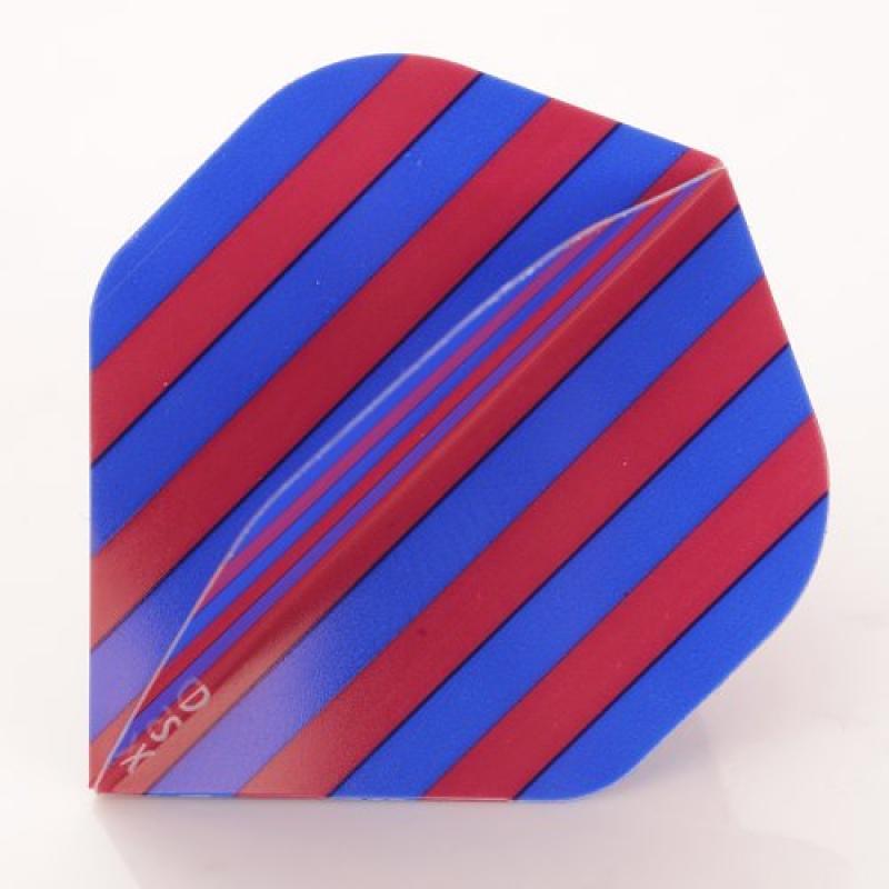 1 x Set of Blue Maroon Stripes Team Colours, Football, Standard Shape