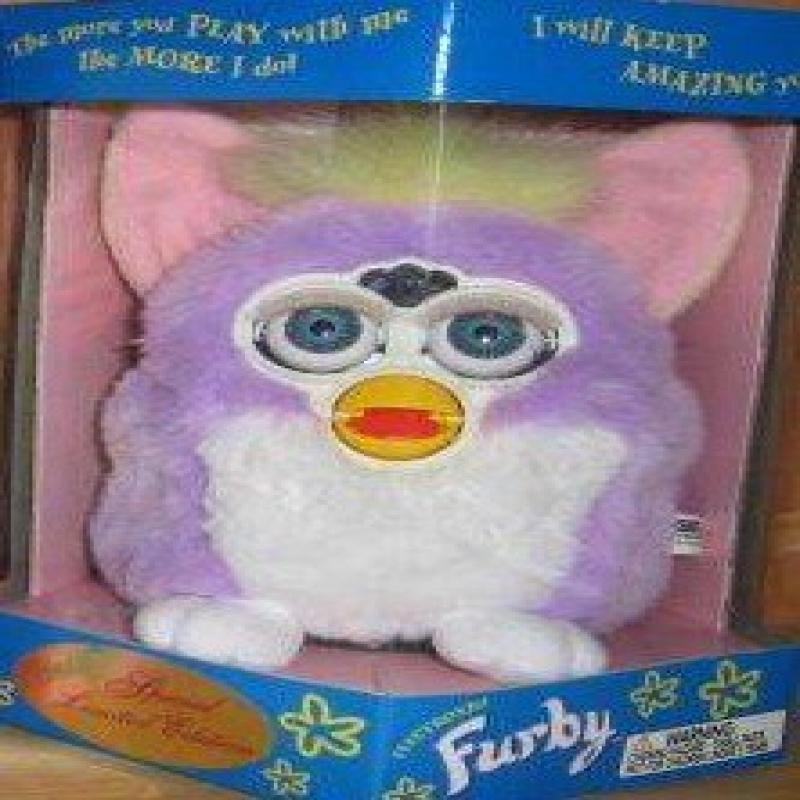 Special Limited Edition Spring Furby by