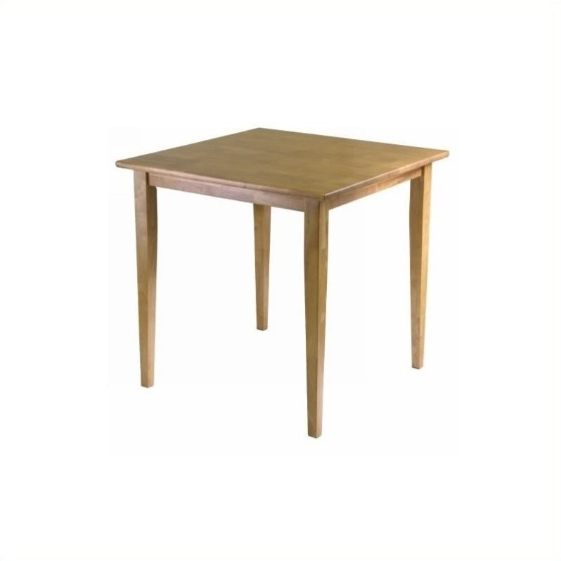 48 Square Dining Room Table: Groveland Square Dining Table, Light Oak