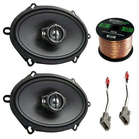 Car Speaker Combo Of 2x Kenwood KFC-C5795PS 5x7