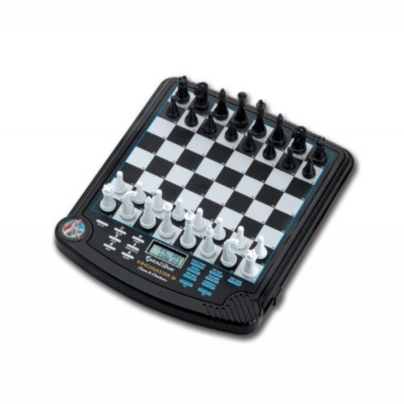 Excalibur 911E-3 King Master III Electronic Chess & Checkers Game by