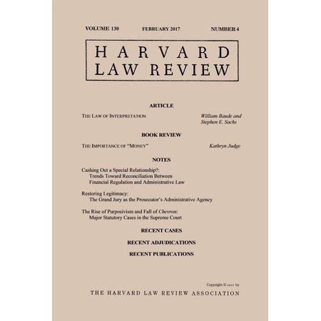 Harvard Law Review: Volume 130, Number 4 - February 2017 - eBook](Halloween Singapore 2017 Review)