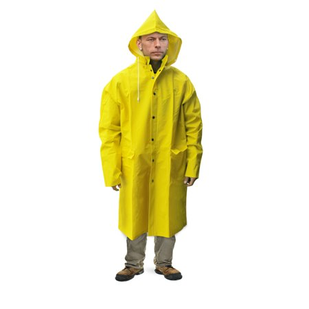 Enguard 2pc Yellow Raincoats, 2 Pack, XL